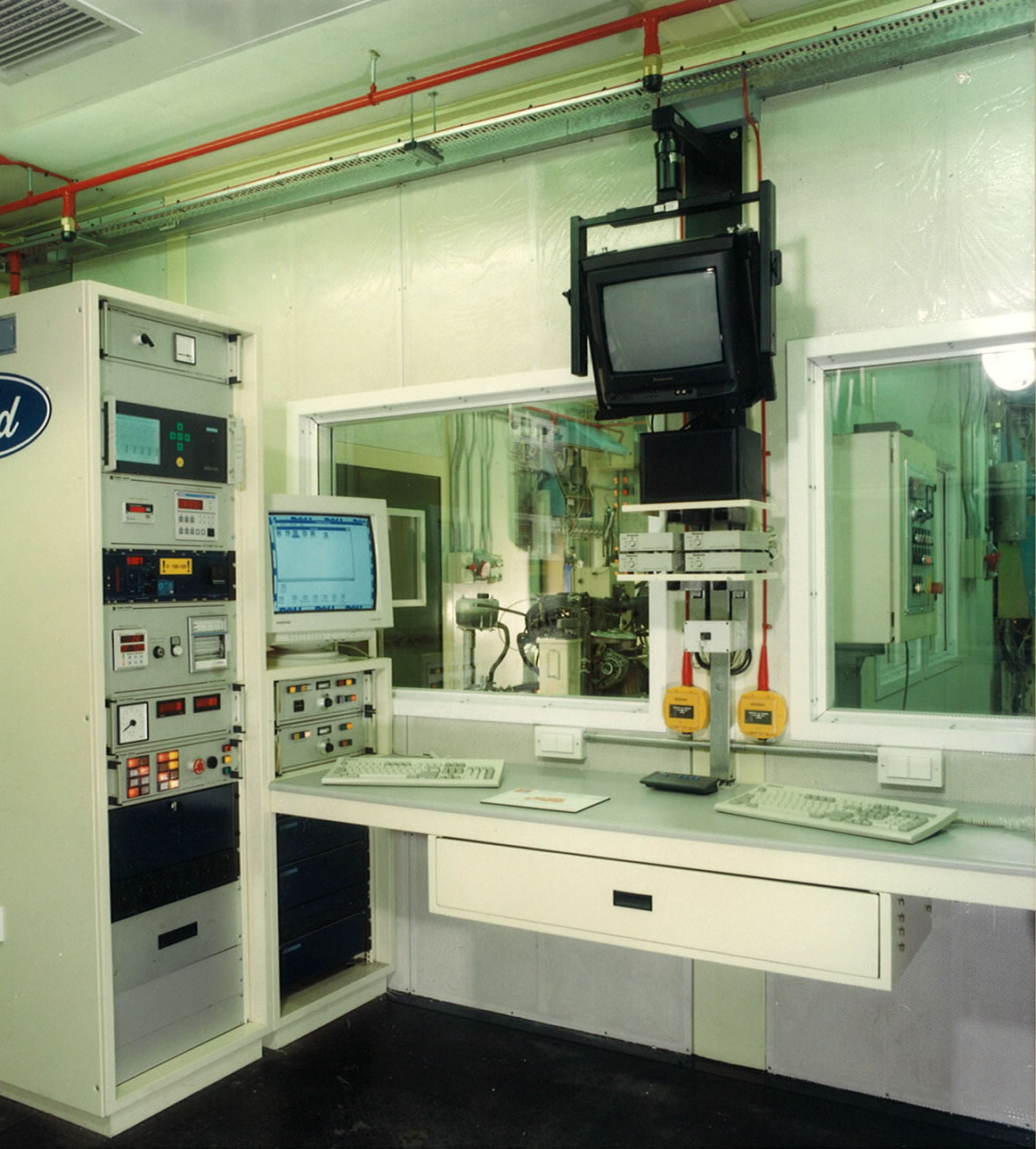 Acoustic Test Cell interior