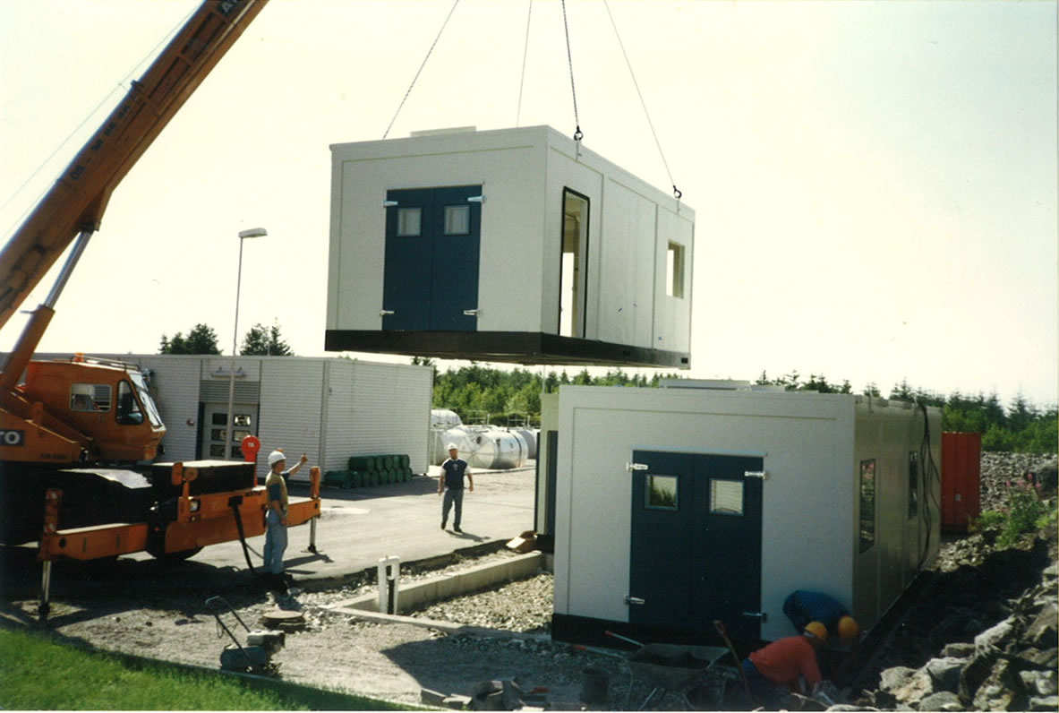 Acoustic Test Cells Factory built